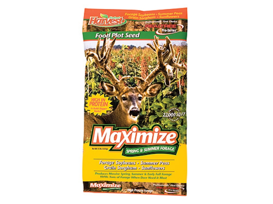 Evolved Harvest Realtree Pro-Series Maximize Annual Food Plot Seed 15 lb