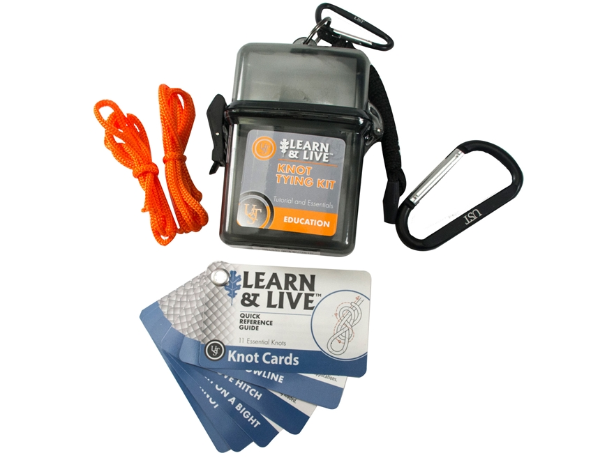 UST Learn & Live Survival Kit Knot Tying