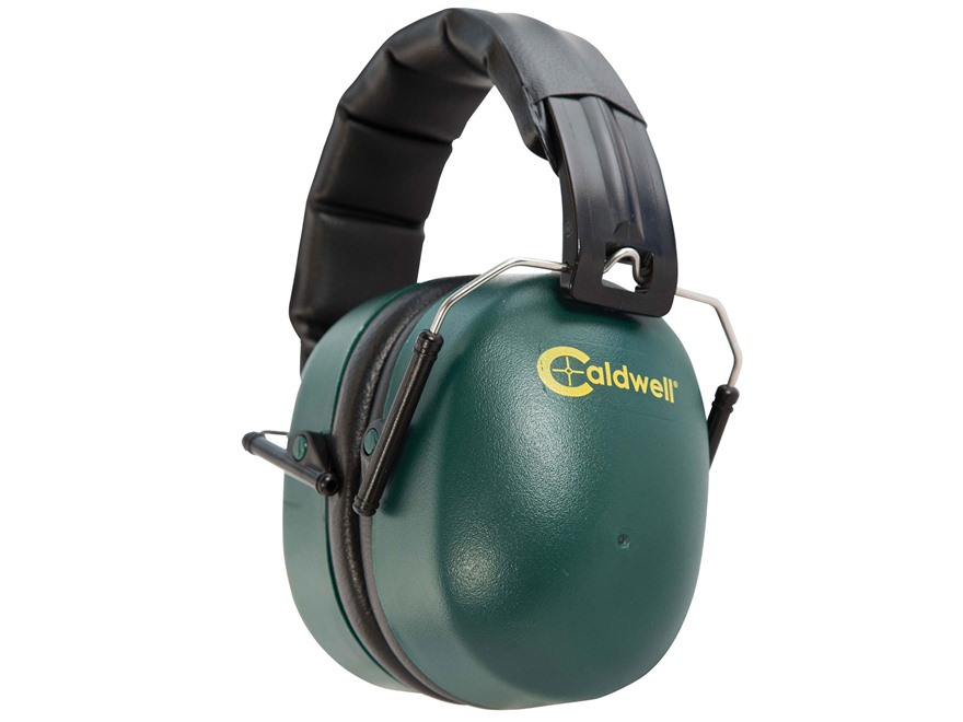 Caldwell Range Muff Earmuffs (NRR 33dB) Green