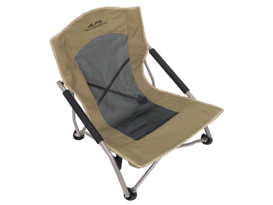 Alps Mountaineering Rendezvous Low Profile Folding Chair Steel And Polyester