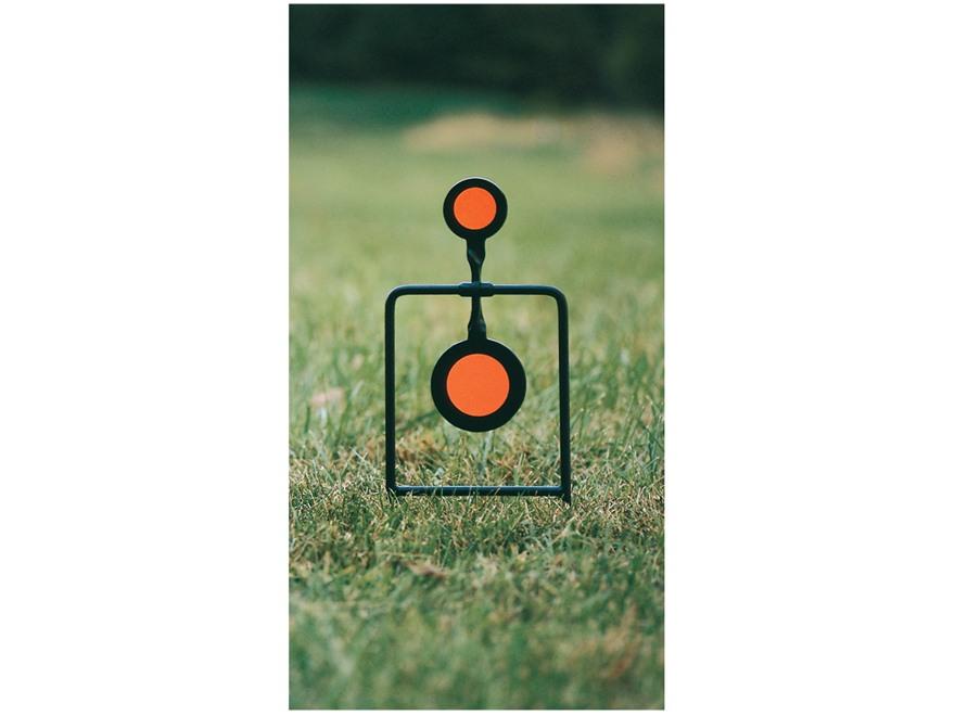 Caldwell Plink N' Swing Swinging Target Twin-Spin 45 Caliber Steel Black