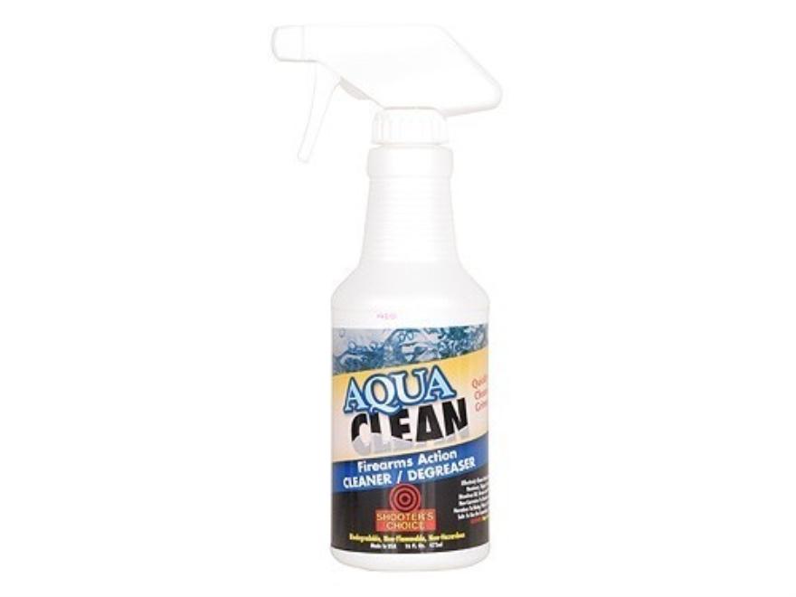 Shooter's Choice Aqua Clean Firearm Action Cleaner-Degreaser 16 oz Pump Spray