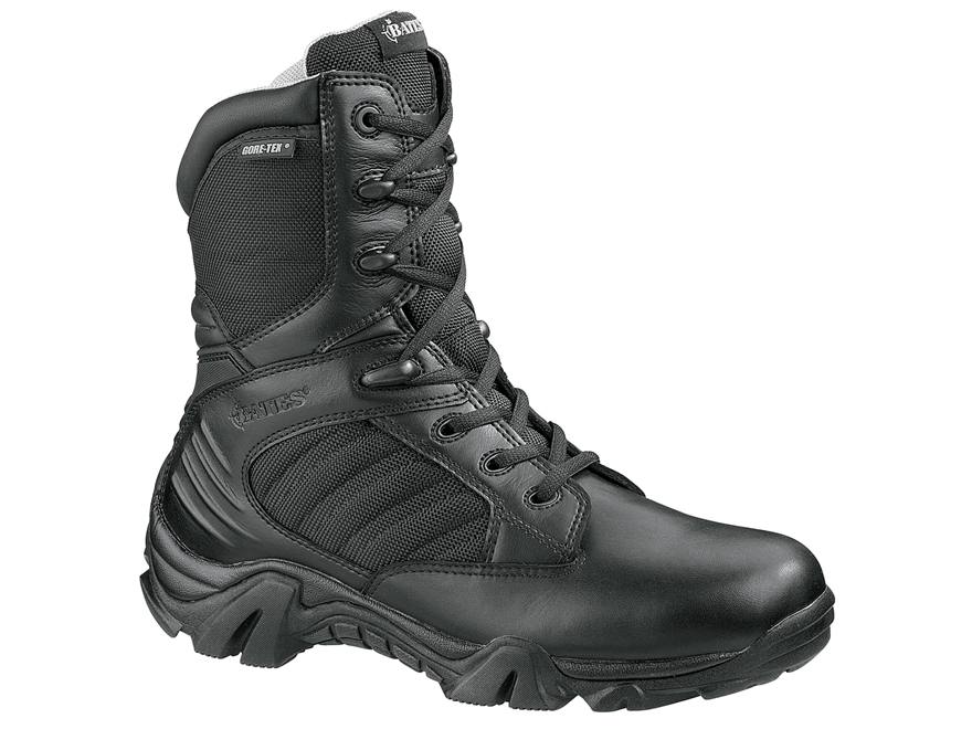 """Bates GX-8 Gore-Tex 8"""" Side-Zip Waterproof Tactical Boots Leather/Nylon"""
