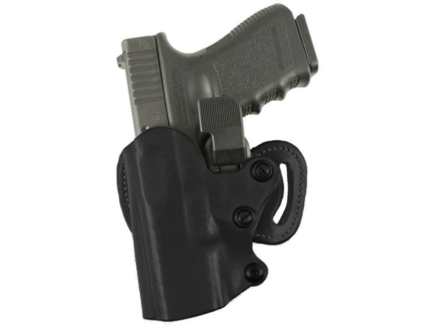 DeSantis Quick-Check Scabbard Belt Holster Glock 19, 23, 32 Leather