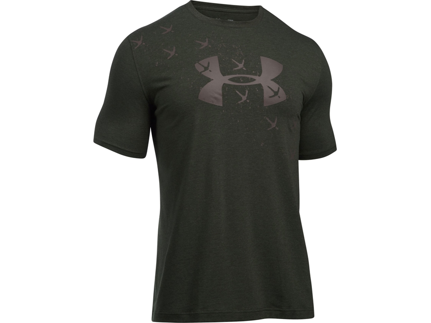 Under Armour Men's UA Turkey Trax T-Shirt Short Sleeve Charged Cotton Blend
