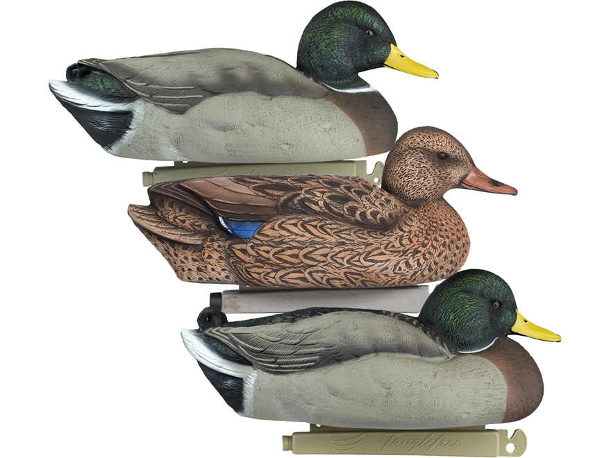 Tanglefree Flight Series Mallard Duck Decoy Pack of 6