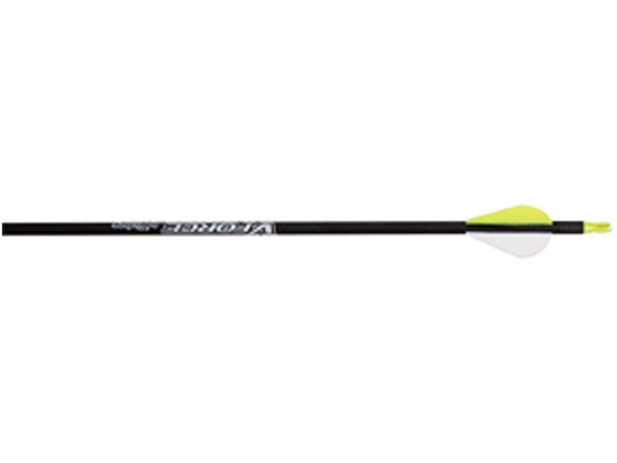 "Victory Vforce V6 350 Carbon Arrow 2"" Blazer Vanes Carbon Black Pack of 12"