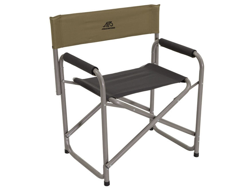 ALPS Mountaineering Directors Chair Steel and Polyester Khaki