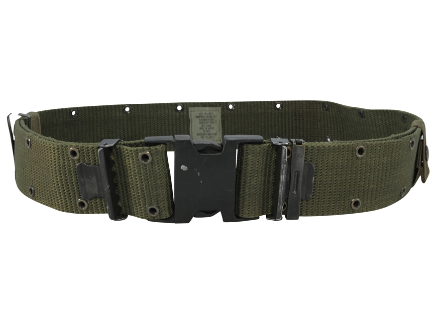 Military Surplus ALICE Pistol Belt Nylon Olive Drab