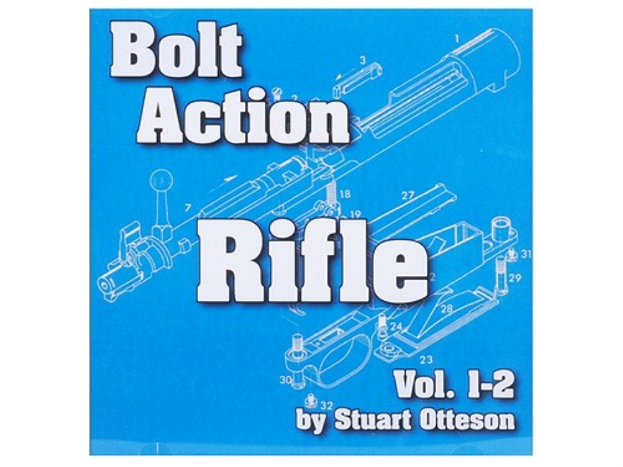 """Bolt Action Rifle Volume 1 and 2"" CD-ROM by Stuart Otteson"