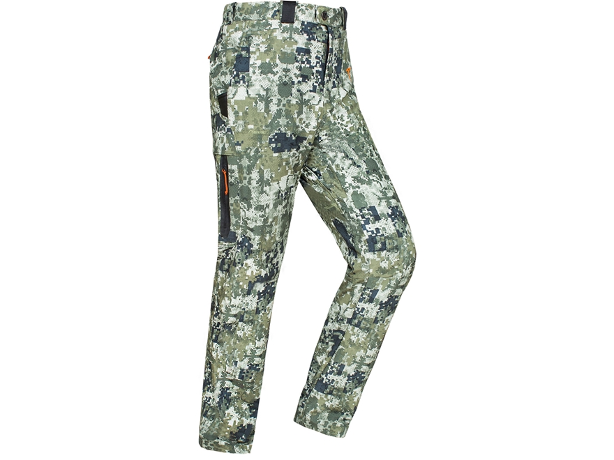 Plythal Men's Scrapeline 1.0 Lightweight Scent Control Pants Polyester Digital Forest Camo