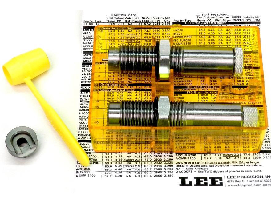 Lee Collet 2-Die Neck Sizer Set 375 H&H Magnum