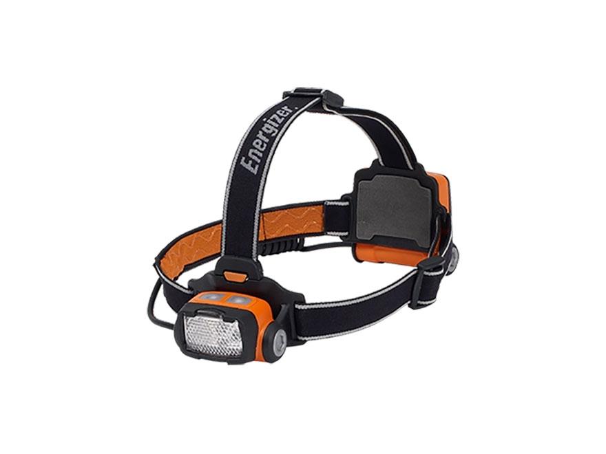 Energizer Intrinsically Safe Headlamp LED with 3 AA Batteries Polymer Orange