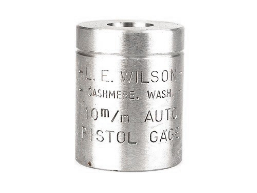 L.E. Wilson Max Cartridge Gauge 10mm Auto