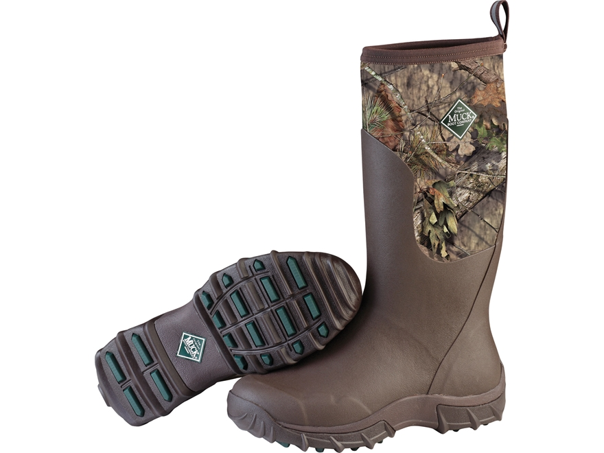 """Muck Woody Sport Cool II 15"""" Rubber Uninsulated Hunting Boots Rubber/Synthetic Bark/Mos..."""