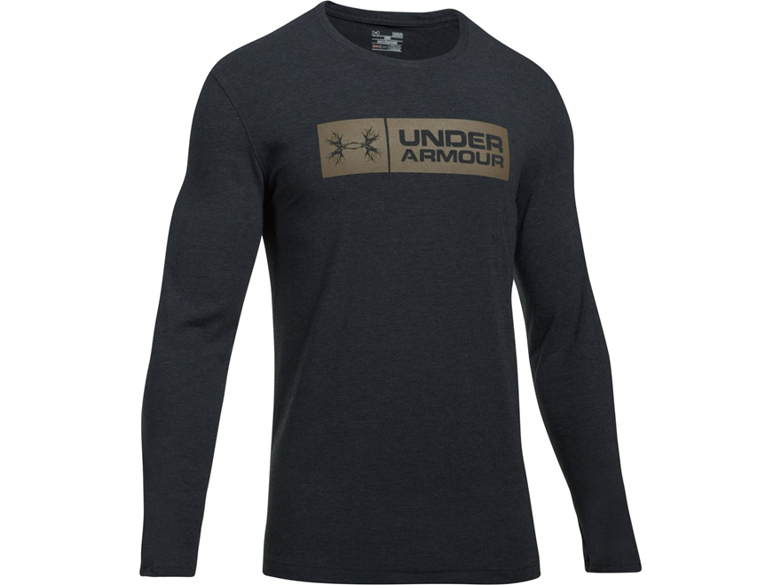 Under Armour Men's UA Antler Tag T-Shirt Long Sleeve Charged Cotton