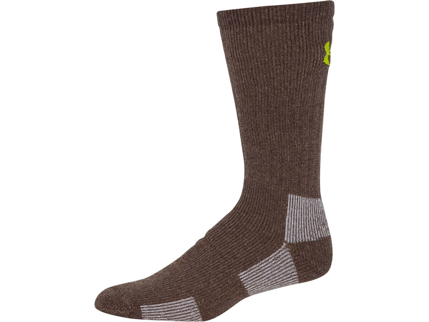 Under Armour Men's Scent Control II Boot Socks Synthetic Blend 1 Pair