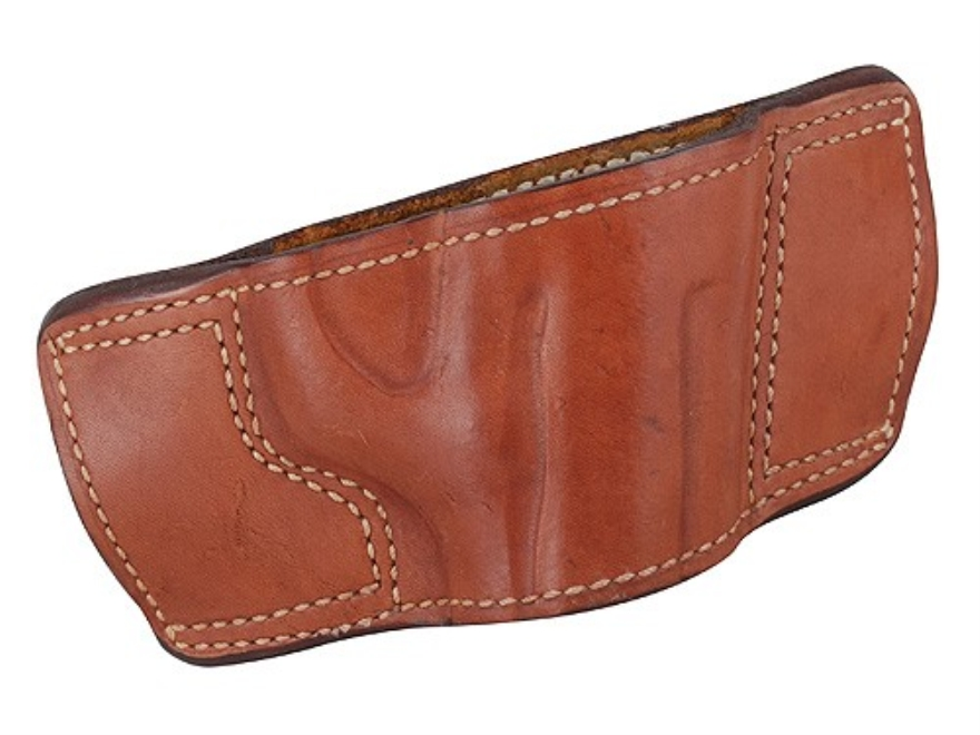 Ross Leather Belt Slide Holster Right Hand Beretta 92 Leather Tan
