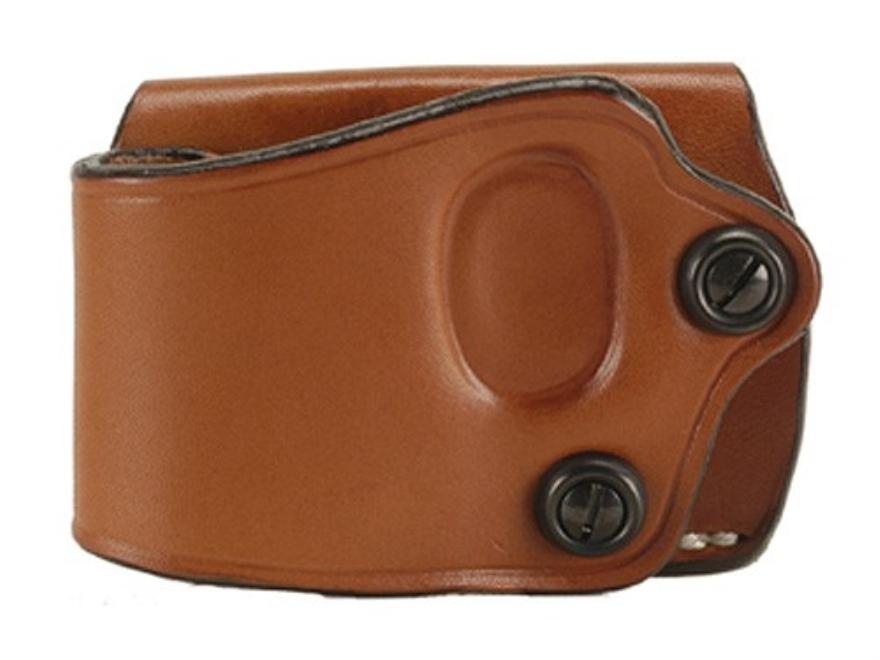 DeSantis Yaqui Slide Belt Holster Large Frame Double Action Semi-Automatic Leather