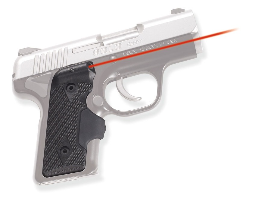 Crimson Trace Lasergrips Kimber Solo Carry Polymer