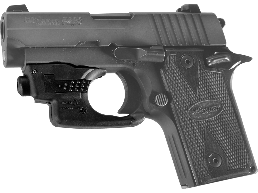 AimShot Ultralight Red Laser Sight Sig Sauer P238 Black