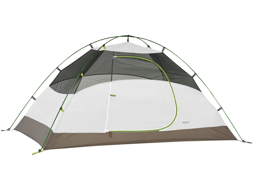 "Kelty Salida 2 2 Person Dome Tent 88"" x 55/45"" x 43"" Polyester White and Lime Green"