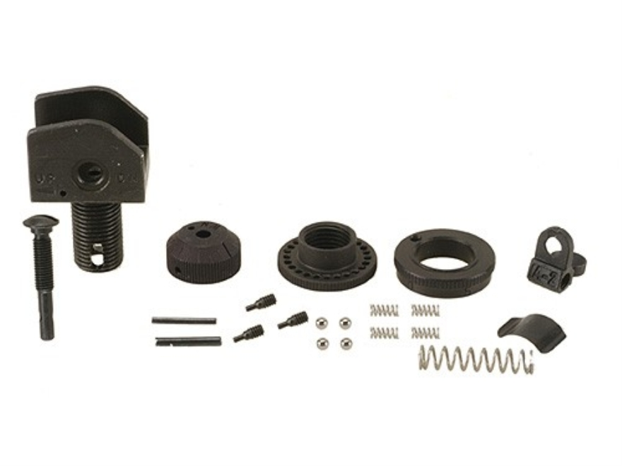 Olympic Arms Rear Sight Parts Set AR-15 A2 National Match Steel Matte