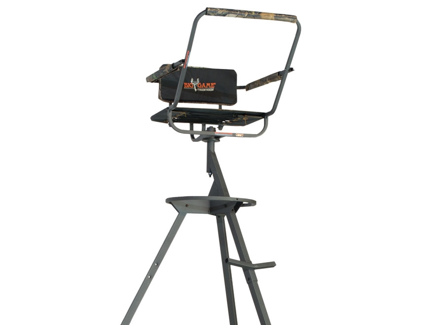 Big Game The Pursuit Tripod Treestand Steel Black Mpn