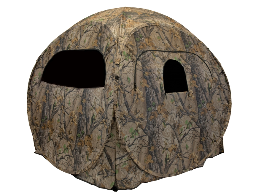 "Big Game The Quantum Ground Blind 60"" x 60"" x 68"" Nylon Epic Camo"