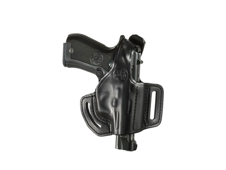 Beretta Mod. 2 Belt Holster Right Hand 81, 84, 85 Leather Black