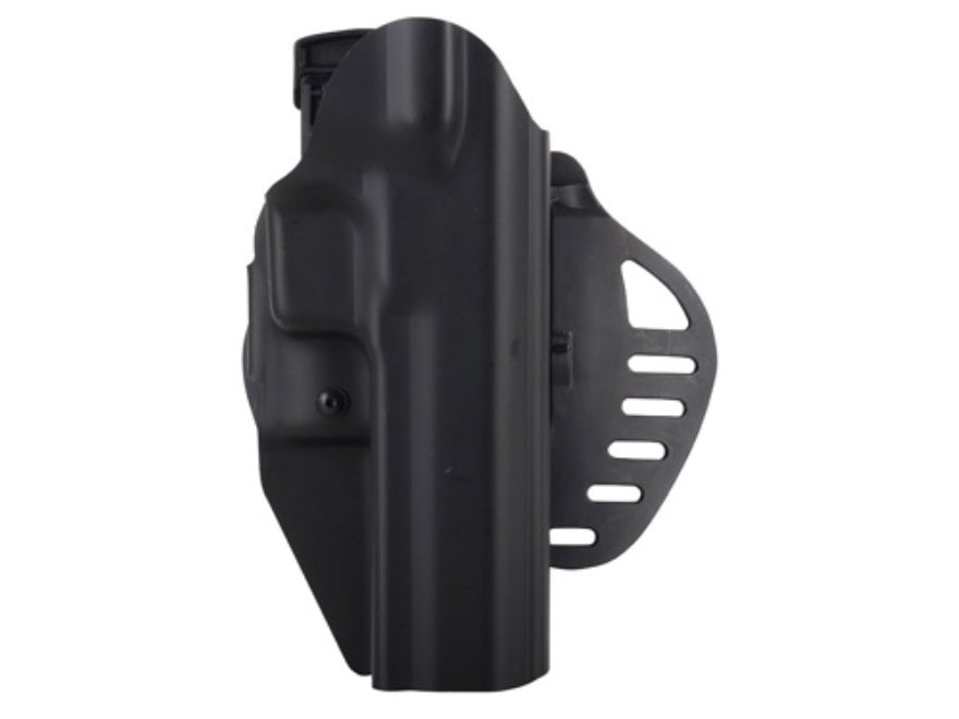 Hogue PowerSpeed Concealed Carry Holster Outside the Waistband (OWB) 1911 Commander Rig...