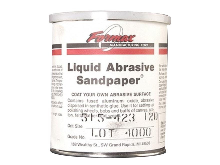 Formax Liquid Abrasive Sandpaper 120 Grit 1 Quart