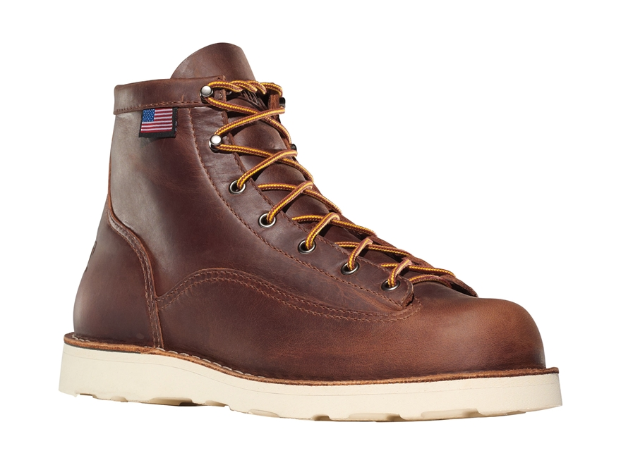 """Danner Bull Run 6"""" Uninsulated Work Boots Leather"""