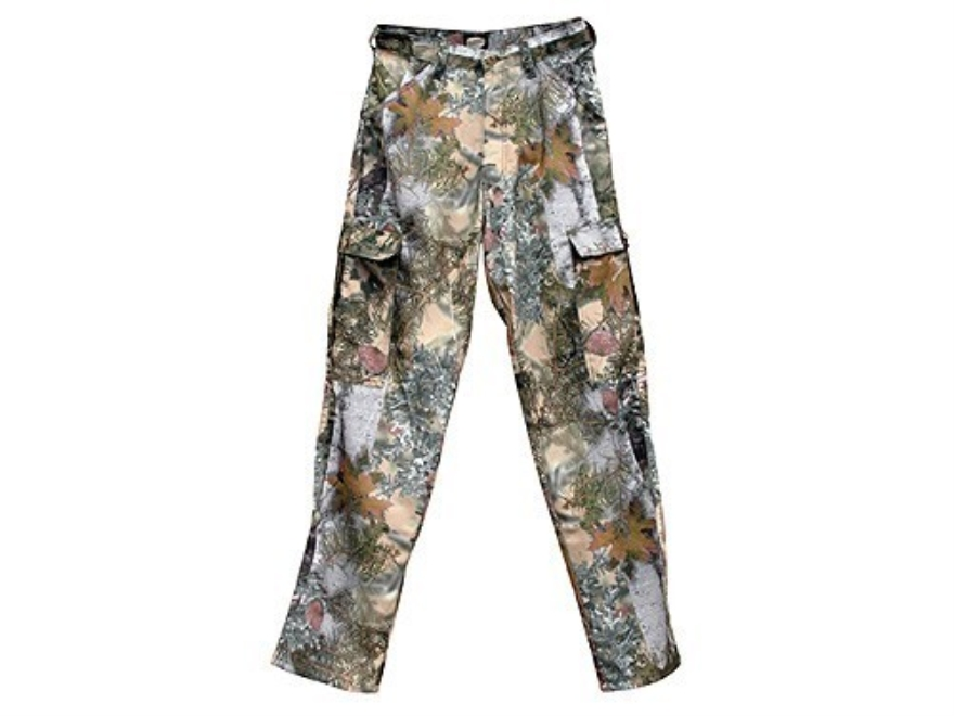 "King's Mens Pro Hunter Pants Polyester King's Mountain Shadow Camo 36"" Waist 32"" Inseam"
