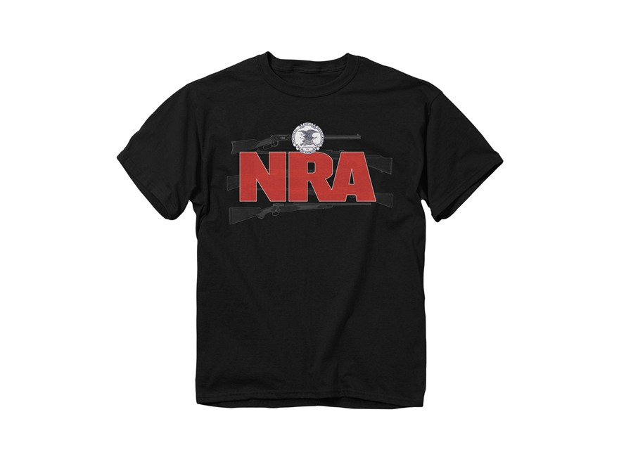 NRA Men's Guns Logo Short Sleeve T-Shirt