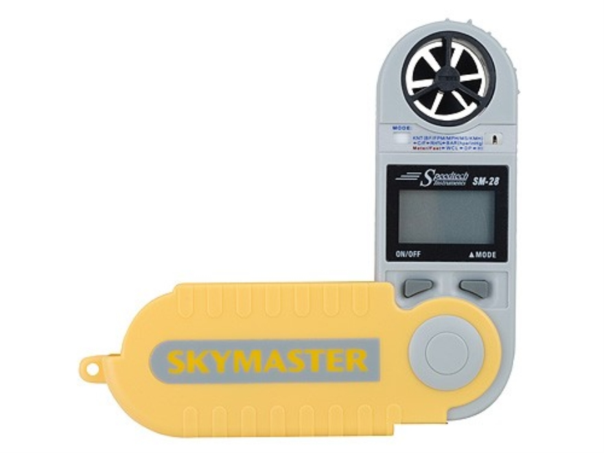 WeatherHawk Skymaster Electronic Hand Held Wind Meter