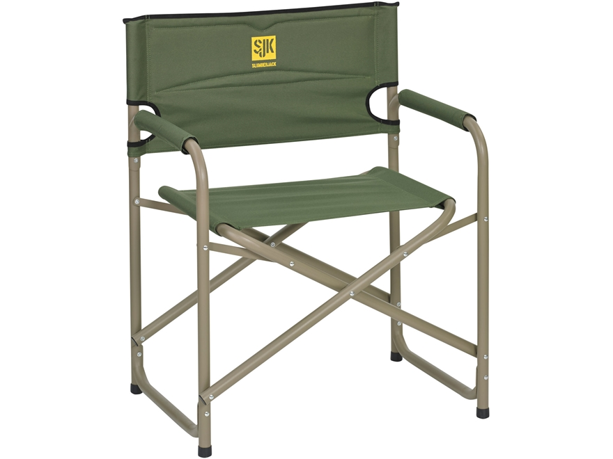 Slumberjack Big Steel Camp Chair Polyester and Steel Green