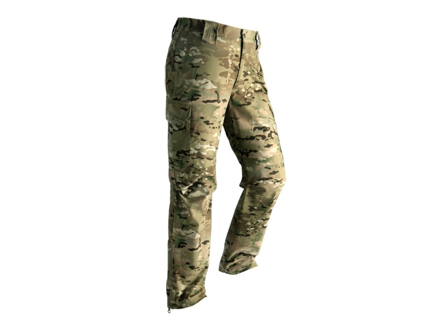 Wild Things Tactical Lightweight Soft Shell Pants Multicam Camo Medium