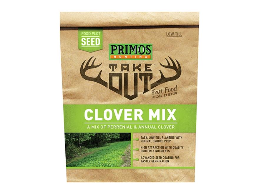 Primos Take Out Clover Blend Food Plot Seed 3 lb Bag