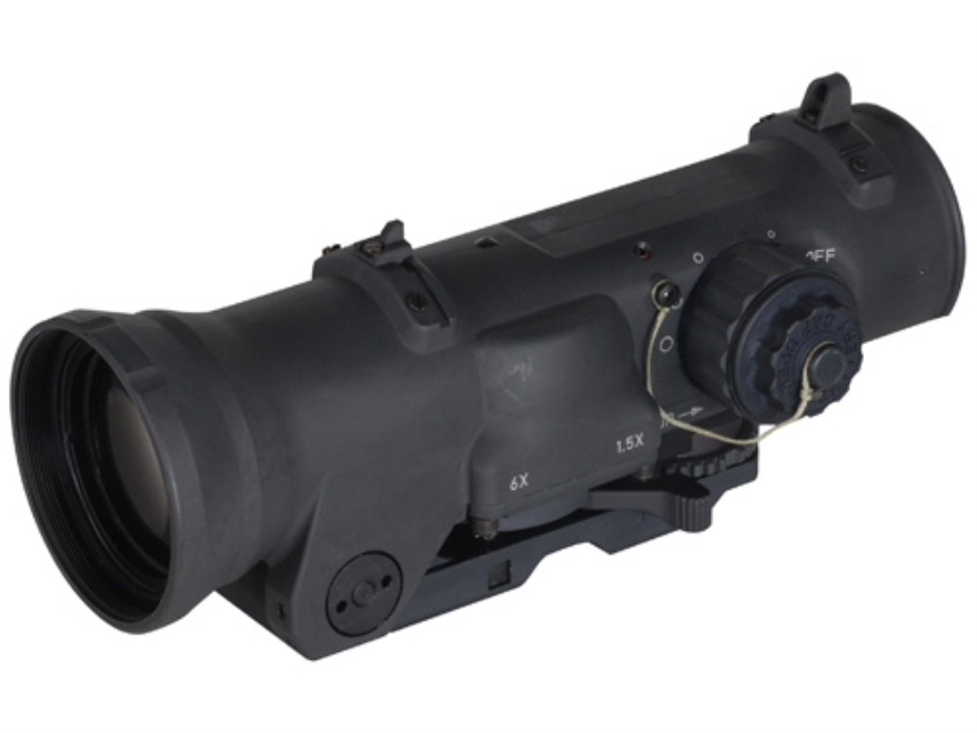 ELCAN SpecterDR Tactical Rifle Scope 1.5x:6x 42mm Switch Power Illuminated 5.56 Ballist...