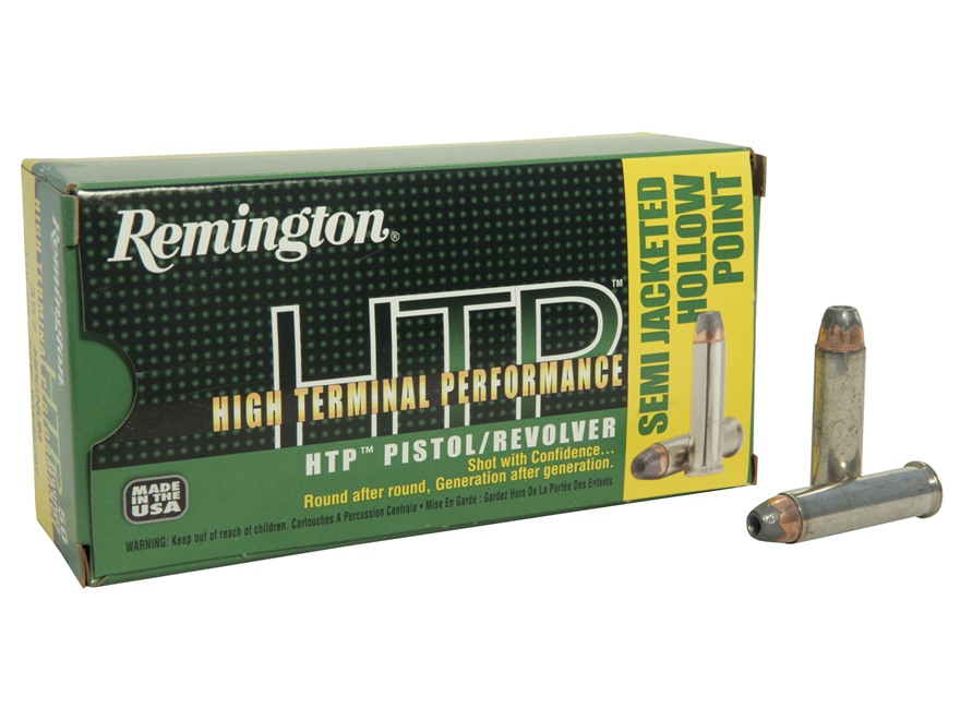 Remington High Terminal Performance Ammunition 357 Magnum 110 Grain Semi-Jacketed Hollo...