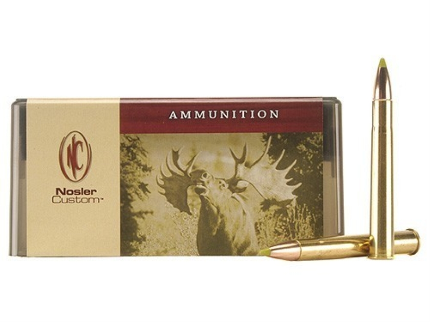 Nosler Custom Ammunition 9.3x74mm Rimmed 250 Grain AccuBond Spitzer Box of 20