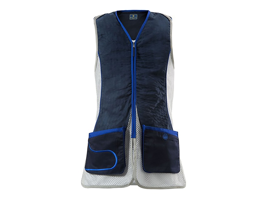 Beretta Men's DT11 Shooting Vest Ambidextrous Polyester and Cotton