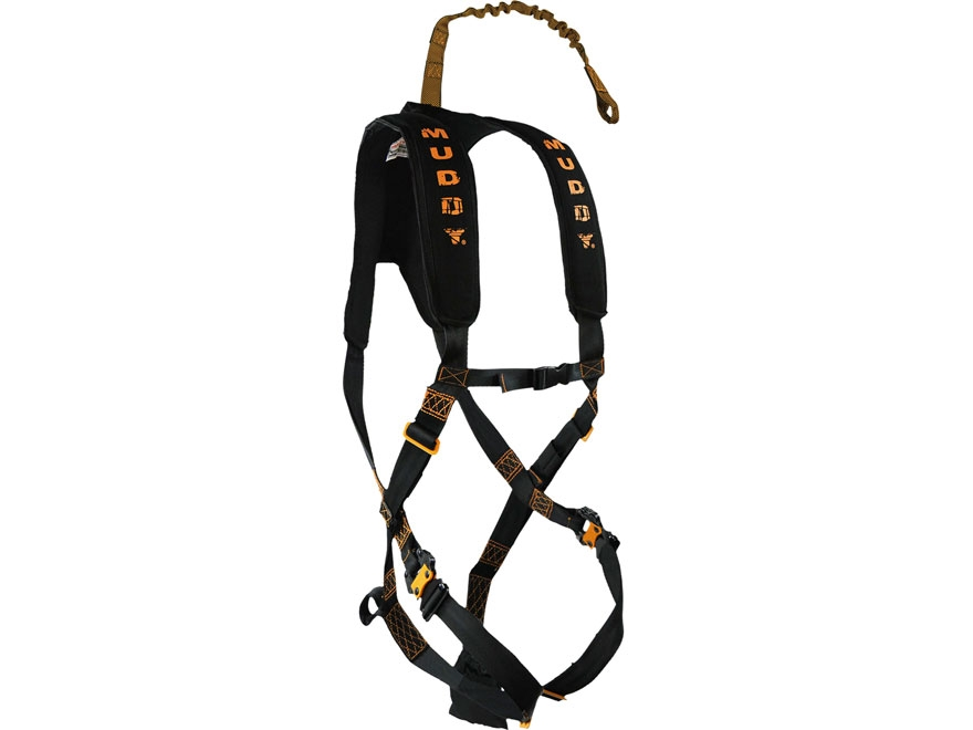 Muddy Outdoors The Diamondback Treestand Safety Harness Nylon Black