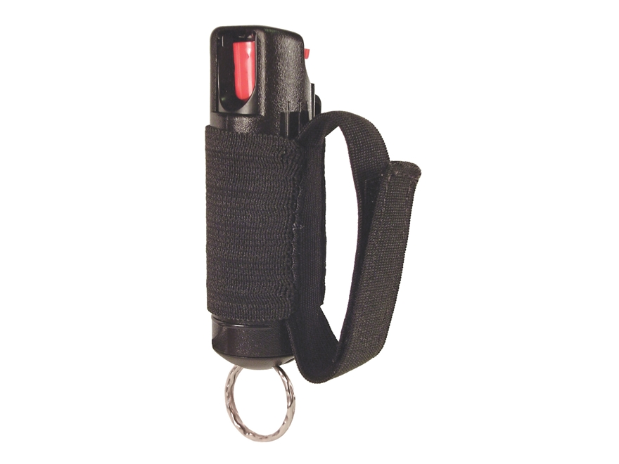 Eliminator 3 in 1 Jogger Pepper Spray .5 oz Aerosol with Hard Case, Jogger Strap, and K...