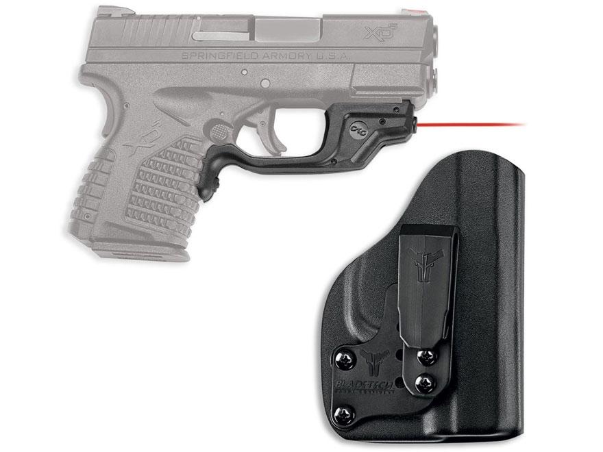 Crimson Trace Laserguard Springfield XD-S 4.0 9mm, 45 ACP Polymer Black