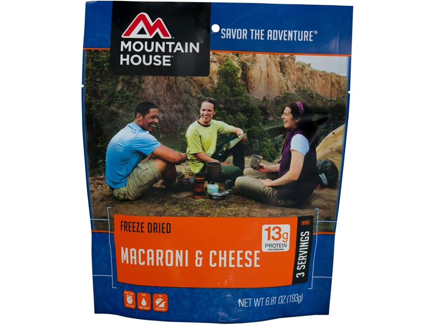 Mountain House Macaroni and Cheese Freeze Dried Food 6.8 oz