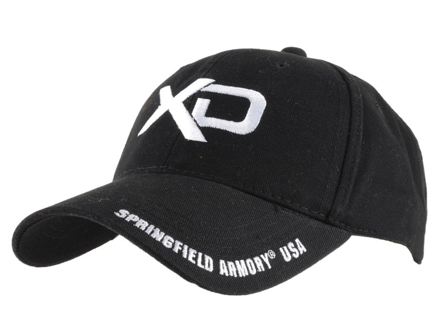 Springfield Armory XD Cap Cotton Black