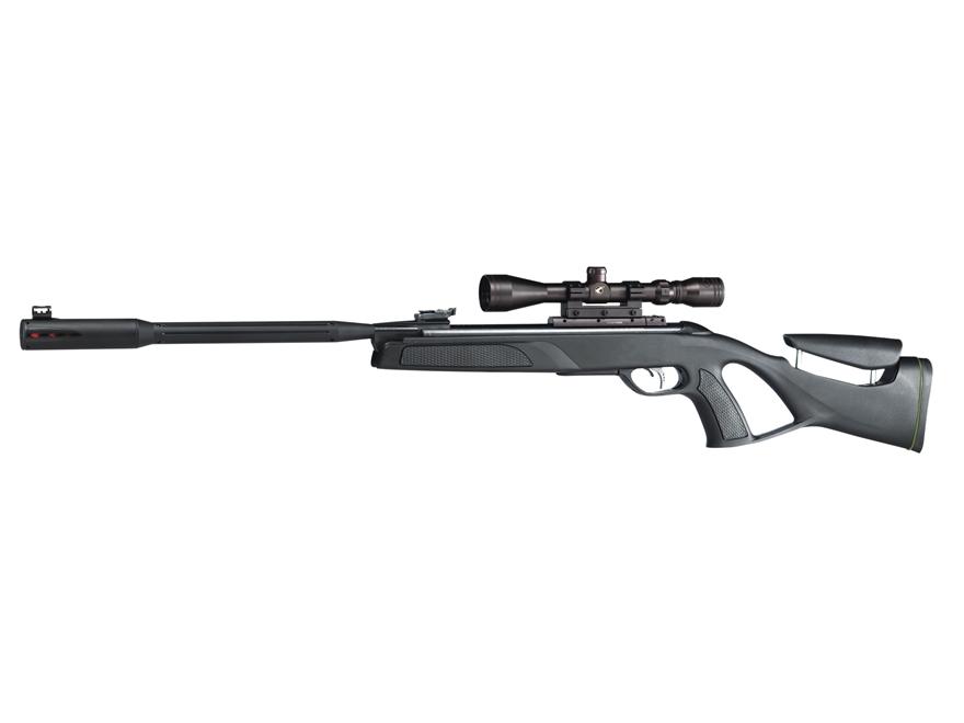 Gamo Whisper Fusion Elite IGT Break Barrel Air Rifle 177 Caliber Pellet Black Synthetic...