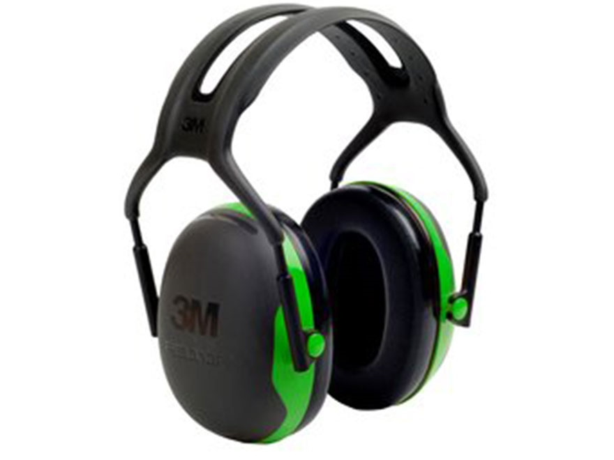 Peltor X1 Ear Defenders Earmuffs (NRR22 dB) Green